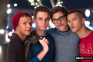 Blake Mitchell, Logan Cross, Colton James and Sean Ford 23