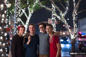 Blake Mitchell, Logan Cross, Colton James and Sean Ford 34