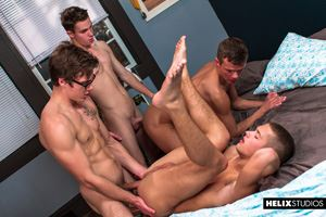 Blake Mitchell, Logan Cross, Colton James and Sean Ford 42