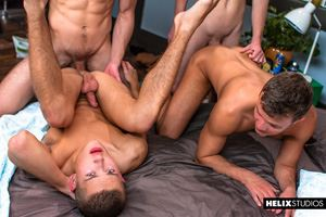 Blake Mitchell, Logan Cross, Colton James and Sean Ford 43