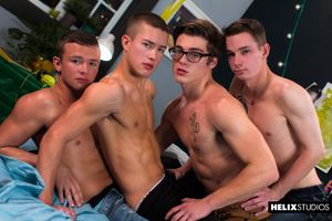 Blake Mitchell, Logan Cross, Colton James and Sean Ford 44