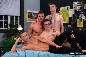 Blake Mitchell, Logan Cross, Colton James and Sean Ford 46