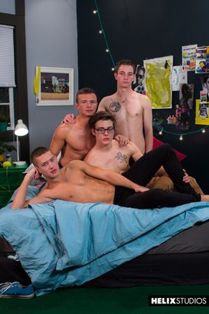 Blake Mitchell, Logan Cross, Colton James and Sean Ford 47