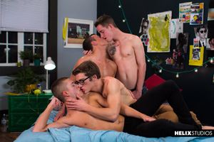 Blake Mitchell, Logan Cross, Colton James and Sean Ford 48