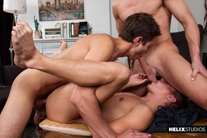Evan Parker, Tyler Hill and Logan Cross 13