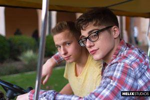 Blake Mitchell and Noah White 23