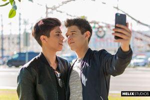 Evan Parker  and Landon Vega 12