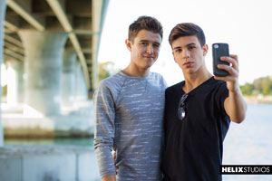 Evan Parker  and Landon Vega 29