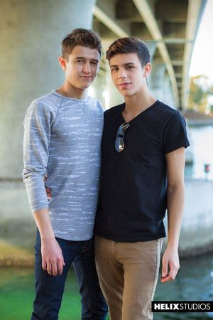 Evan Parker  and Landon Vega 30