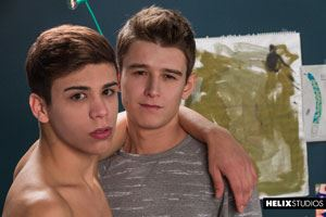 Evan Parker  and Landon Vega 32