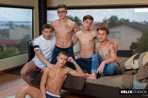 Blake Mitchell, Sean Ford, Joey Mills, Wes Campbell and Corbin Colby 1