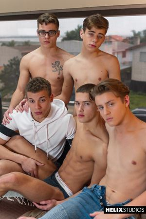 Blake Mitchell, Sean Ford, Joey Mills, Wes Campbell and Corbin Colby 20
