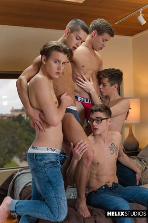 Blake Mitchell, Sean Ford, Joey Mills, Wes Campbell and Corbin Colby 22