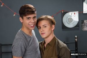 Two of of hottest young boys Wes Campbell and Landon Vega do not plead the fifth on anything... 12