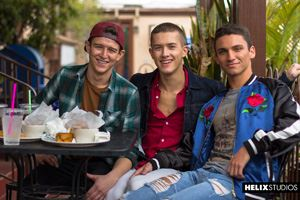 Helix Studios presents Beck Hartle, Evan Parker and Sean Ford 34