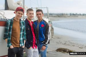 Helix Studios presents Beck Hartle, Evan Parker and Sean Ford 47