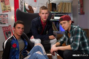 Helix Studios presents Beck Hartle, Evan Parker and Sean Ford 48