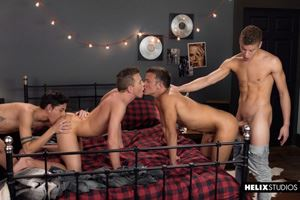 Logan Cross, Brad Chase, Aiden Garcia and Corbin Colby 4
