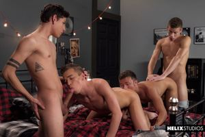 Logan Cross, Brad Chase, Aiden Garcia and Corbin Colby 5
