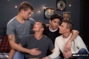Logan Cross, Brad Chase, Aiden Garcia and Corbin Colby 10