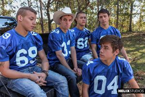 Tight Ends: Scene Three - Zach Taylor, Colton James, Sean Ford, Joey Mills, Corbin Colby