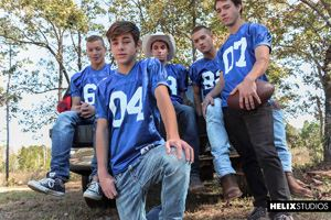 Zach Taylor, Colton James, Sean Ford, Joey Mills, Corbin Colby 12