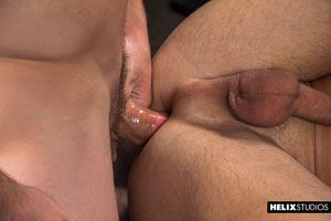 Justin Owen, Blake Mitchell and Logan Cross are in for one hot threesome 17