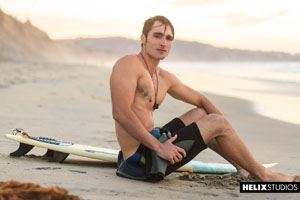 Sexy surfer Luke Wilder 1