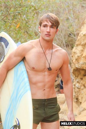 Sexy surfer Luke Wilder 11