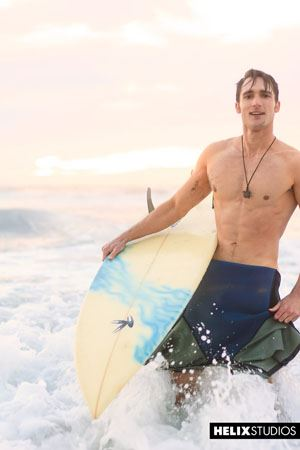 Sexy surfer Luke Wilder 13