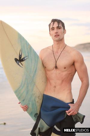 Sexy surfer Luke Wilder 14