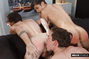 Josh Brady, Cole Claire and Angel Rivera 8