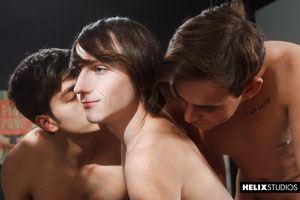 Josh Brady, Cole Claire and Angel Rivera 15
