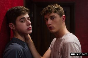 Joey Mills and Cameron Parks in Virgin Kink at Helix Studios 19