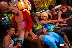 Max Carter, Kyle Ross, Evan Parker, Tyler Hill, Blake Mitchell and Joey Mills 13