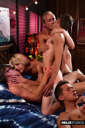 Max Carter, Kyle Ross, Evan Parker, Tyler Hill, Blake Mitchell and Joey Mills 73