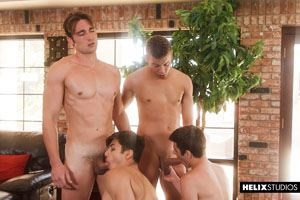 Josh Brady, Joey Mills, Corbin Colby, Cameron Parks, Luke Wilder and Angel Rivera 10