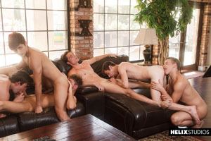 Josh Brady, Joey Mills, Corbin Colby, Cameron Parks, Luke Wilder and Angel Rivera 19