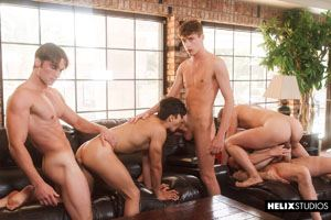 Josh Brady, Joey Mills, Corbin Colby, Cameron Parks, Luke Wilder and Angel Rivera 31