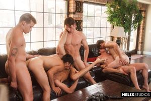 Josh Brady, Joey Mills, Corbin Colby, Cameron Parks, Luke Wilder and Angel Rivera 36