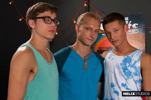 Helix Boys Max Carter, Casey Tanner and Blake Mitchell 1
