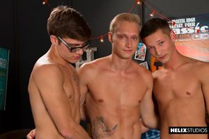 Helix Boys Max Carter, Casey Tanner and Blake Mitchell 2