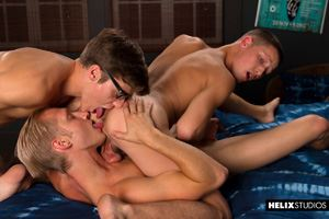 Helix Boys Max Carter, Casey Tanner and Blake Mitchell 25