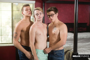 Blake Mitchell, Corbin Colby and Clay Turner 22
