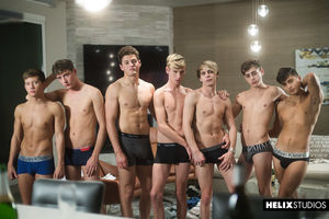 Kyle Ross, Tyler Hill, Joey Mills, Cameron Parks, Julian Bell, Angel Rivera and Corey Marshall 38