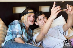Justin Cross and Kayden Alexander 12