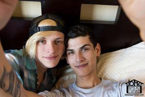 Justin Cross and Kayden Alexander 16