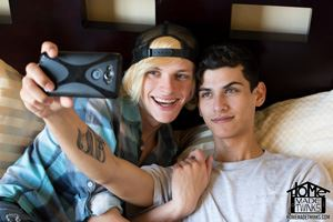 Justin Cross and Kayden Alexander 17