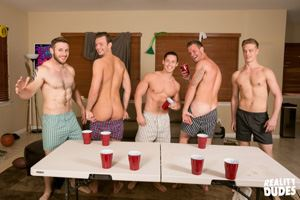 College jocks Chase, John Culver, Ken, Shawn Reeve and Tobias 9