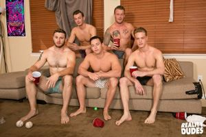College jocks Chase, John Culver, Ken, Shawn Reeve and Tobias 10